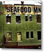 Westport Washington Seafood Market Metal Print