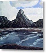 Wet Mountains Metal Print