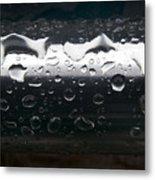Wet Steel-1 Metal Print