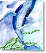 Whale 6 Metal Print
