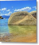 Whale Beach Lake Tahoe Metal Print
