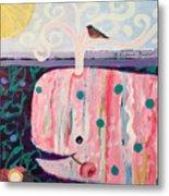Whale's Tale The Beginning Of The End Metal Print