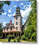 Wharton Mansion Metal Print
