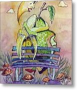 What A Lovely Pear Metal Print