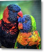 What Are Friends For? Metal Print