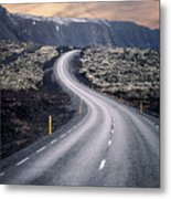 What Lies Ahead Metal Print