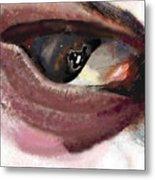 What The Eye Tell's Metal Print