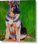What Waits For You In The Green Green Grass Of Home Metal Print