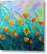 What'a Up Buttercup? Metal Print