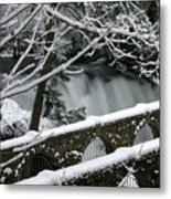Whatcom Falls Winter 08 Metal Print by Craig Perry-Ollila