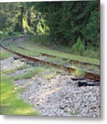 Whats Around The Bend Metal Print