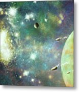 What's Out There Metal Print
