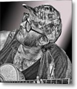 What's That Noise? Metal Print