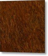 Wheat In The Wind Metal Print