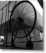 Wheel Art Metal Print