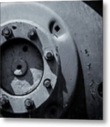Wheel Bolts In Metal Metal Print