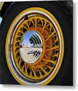 Wheel Nice Metal Print