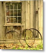 Wheel Rims Metal Print