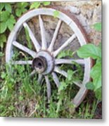 Wheel Walk Metal Print