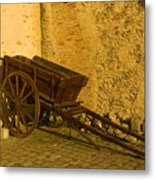 Wheelbarrow Metal Print
