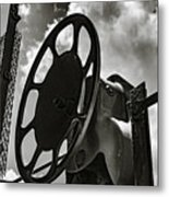 Wheels In The Sky Metal Print