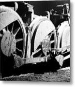 Wheels Of Steam Engine Metal Print
