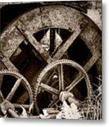 Wheels Of Time Metal Print