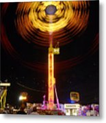 Wheels Of Wonder Metal Print