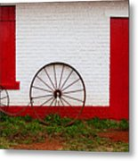 Wheels Ready  Metal Print
