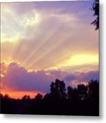 When Evening Comes Metal Print