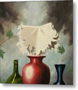 When Evening Falls Metal Print