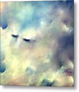 When Sleeping In The Clouds Metal Print