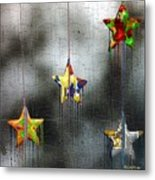 When Stars Melt Down Metal Print