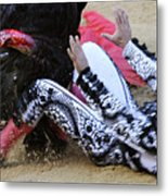 When The Bull Gores The Matador IIi Metal Print