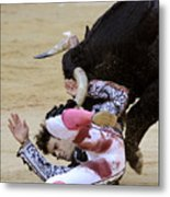 When The Bull Gores The Matador Iv Metal Print