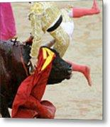 When The Bull Gores The Matador V Metal Print