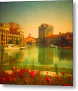 When The City Dares To Dream 2 Metal Print