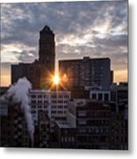 When The City Sleeps Metal Print