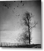 When The Darkness Gets Out Metal Print