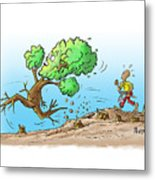 When The Going Gets Tough Metal Print