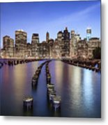 When The Lights Go On Metal Print