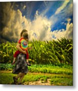 When The Sun Comes After Rain Metal Print