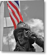 When They Fell They Stood Metal Print