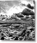 When You Need The Ocean, She Comes Rushing... Metal Print