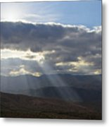 When Your Light Shines Metal Print