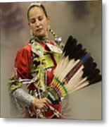 Pow Wow Where Are You Now Metal Print