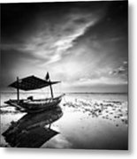 Where Does The Seawater Metal Print