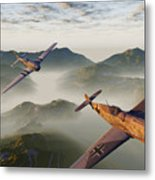 Where Eagles Dare Metal Print