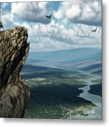 Where Eagles Soar Metal Print