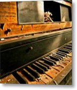 Where Fingers Once Danced Metal Print